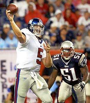 Giants vs Pats, 2003 Preseason