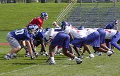 Training camp, 2003