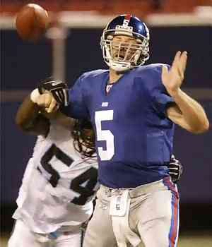 Giants vs Panthers, 2003 Preseason