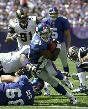Game 1 versus Rams
