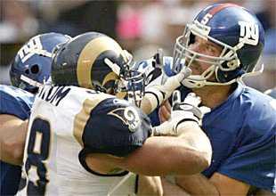 vs Rams, Game 1, 2003
