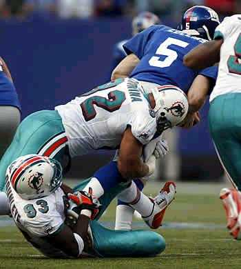 vs Dolphins, Game 4, 2003
