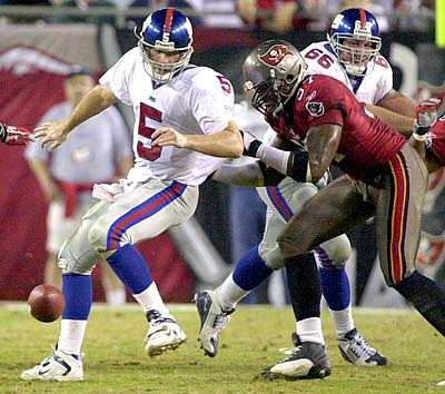 Game 11, vs Bucs, 2003