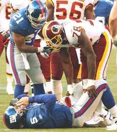 Game 13, vs Redskins, 2003