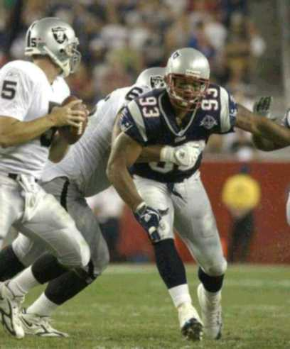vs Patriots, game 1, 2005 regular season