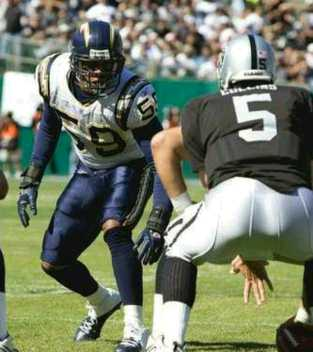 vs Chargers, game 5, 2005 regular season