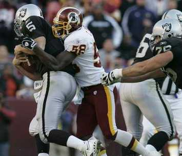 vs redskins, game 10, 2005 regular season