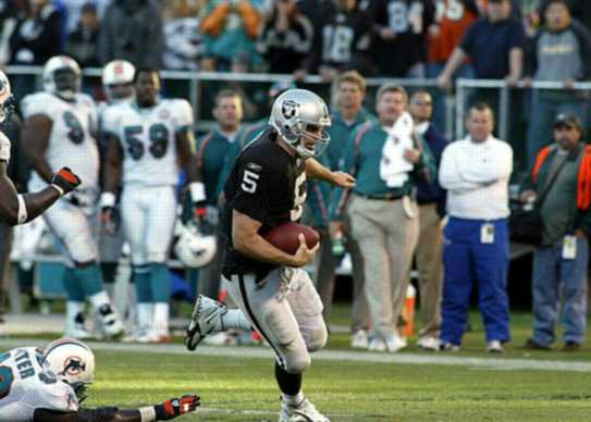 vs Dolphins, 18-yd run to TD, game 11, 2005 regular season