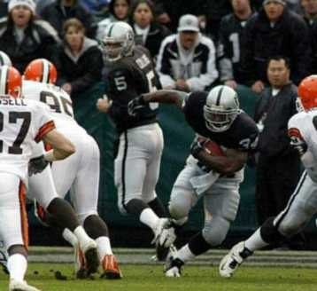 vs browns, game 14, 2005 regular season