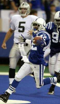vs Colts, 2004 regular season, game 5