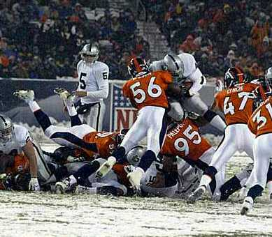 vs broncos, game 11, 2004 regular season