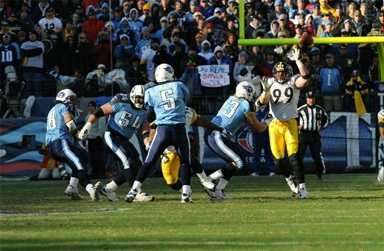 vs steelers, week 16, 2008 regular season
