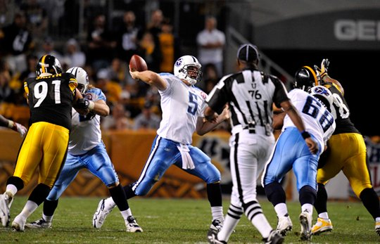 vs steelers, week 1, 2009 Regular Season