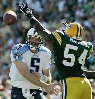vs Packers, preseason Game 4, 2006 Season